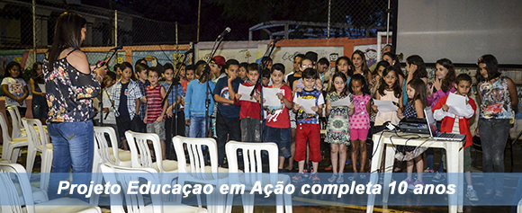 Projeto Social Completa 10 anos